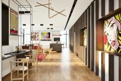 Pop Art Style 's Penthouse